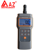 AZ8905 multifunctional anemometer measurement of humidity
